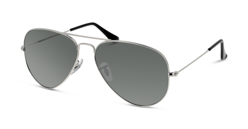 Lunettes de soleil Ray Ban RB 3025 AVIATOR METAL W3277 ARGENT
