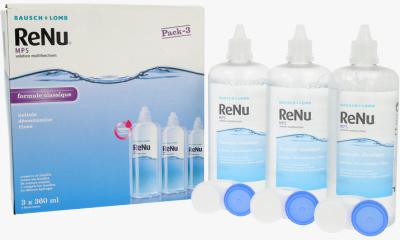 Produit Lentille RENU Renu Mps - Pack 3X360Ml