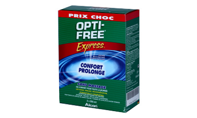 Produit Lentille OPTI-FREE Opti-Free Express - Pack 2X355 Ml