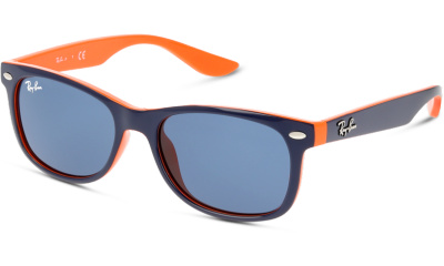 Lunettes de soleil Ray Ban 9052S 178 TOP BLUE ON ORANGE
