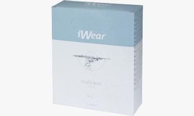 Produit Lentille iWear iWear multiclean - Pack 3 X 380Ml