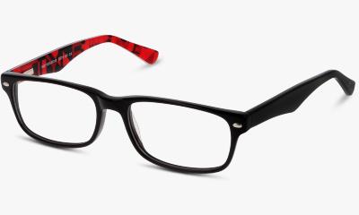 Lunettes de vue In Style ISBK03 BR BLACK--RED/BURGUNDY