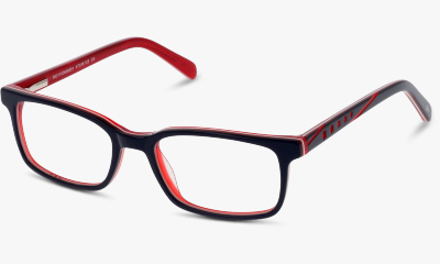 Lunettes de vue Play ! PLAT07 CR NAVY BLUE--RED/BURGUNDY