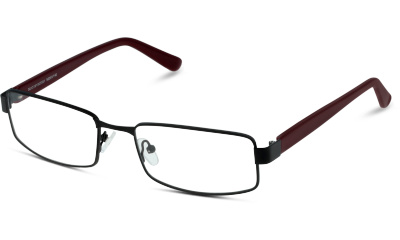 Lunettes de vue Collection Grandoptical GOAM20 BR BLACK--RED/BURGUNDY