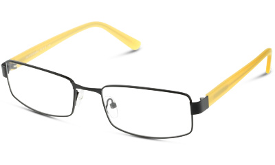 Lunettes de vue Collection Grandoptical GOAM20 BY BLACK--YELLOW