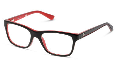 Lunettes de vue Ray Ban 1536 3573 TOP BLACK ON RED