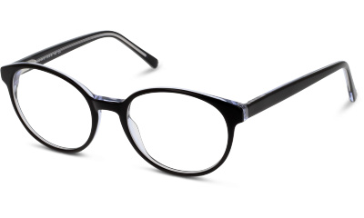 Lunettes de vue BE BRIGHT BBBM01 BW BLACK--WHITE/CREAM