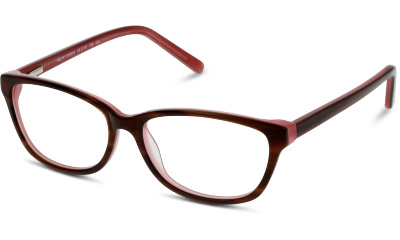Lunettes de vue BE BRIGHT BBAF52 HR HAVANA/TORTOIS--RED/BURGUNDY