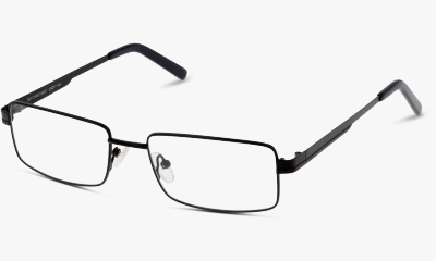 Lunettes de vue The One TOM46 C01 SATIN BLACK / TIPS SHINY BLACK