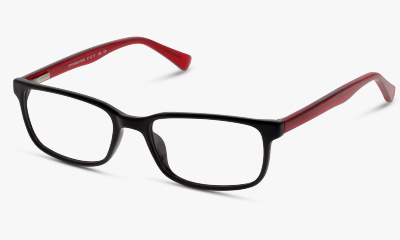 Lunettes de vue The One TOCK02 BR BLACK RED/BURGUNDY