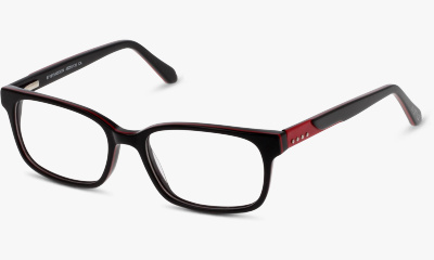 Lunettes de vue In Style ISCT21 BR BLACK RED/BURGUNDY