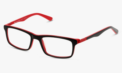 Lunettes de vue In Style ISCT10 BR BLACK RED/BURGUNDY