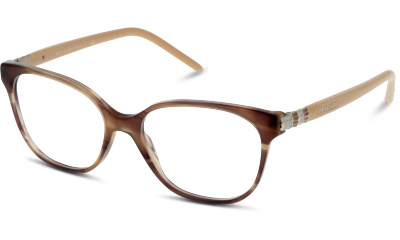Lunettes de vue Bulgari 4105 5240 STRIPED BROWN