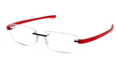 Lunettes de vue Tag Heuer 3943 002 RED / BLACK / SILVER