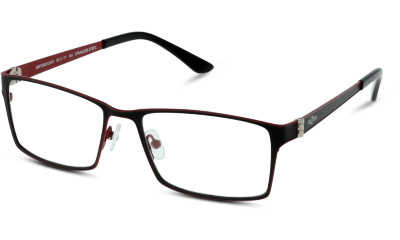 Lunettes de vue FUZION FUAM48 BR BLACK--RED/BURGUNDY