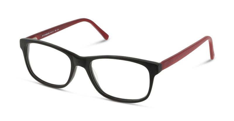 Lunettes de vue Dbyd DBCM20 BR BLACK--RED/BURGUNDY