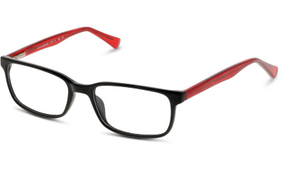 Lunettes de vue Collection Grandoptical CK02 BR BLACK--RED/BURGUNDY