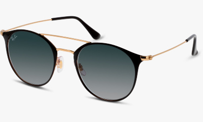 Lunettes de soleil Ray Ban New & 3546 187 GOLD TOP BLACK