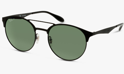 Lunettes de soleil Ray Ban Active 3545 186 SHINY BLACK/TOP MATTE BLA