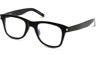 Lunettes de vue Yves Saint Laurent SL 50 SLIM 001 BLACK TRANSPARENT