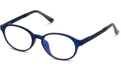 Accessoire i-Block Lunettes anti-lumière bleue Enfant Ronde Bleu sans correction
