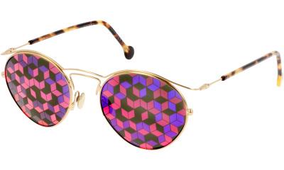 Lunettes de soleil Dior DIORORIGINS1 06J GOLD HAVN