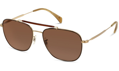 Lunettes de soleil Paul Smith 0PM4079S 5245/73 BROWN/BRUSHED SOFT GOLD