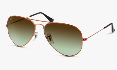 Lunettes de soleil Ray Ban New & 3025 9002A6 SHINY MEDIUM BRONZE