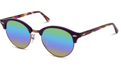 4e3bcd9bf260fe Lunettes de soleil Ray Ban RB4246 CLUBROUND