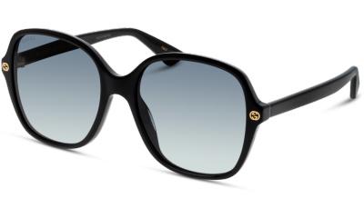 Lunettes de soleil Gucci GG0092S 001 BLACK-BLACK-GREY