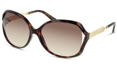 Lunettes de soleil Gucci GG0076S 003 AVANA-GOLD-BROWN