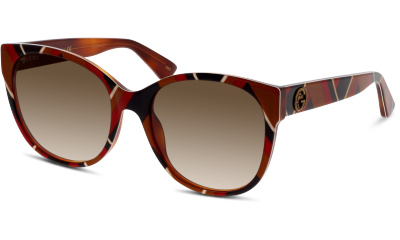 Lunettes de soleil Gucci GG0097S 004 YELLOW-YELLOW-BROWN