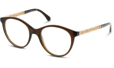 Lunettes de vue Chanel 3363B 1599 TRANSPARENT BROWN VENDOME