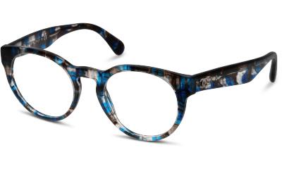 Lunettes de vue Chanel 3359 1606 BLUE TWEED