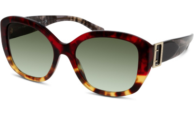 Lunettes de soleil Burberry 4248 36358E RED HAVANA/LIGHT HAVANA
