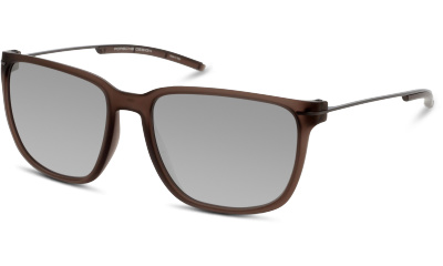 Lunettes de soleil Porsche Design P8637 B BROWN TRANSPARENT