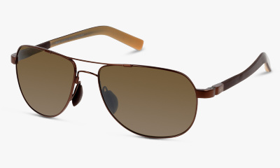 Lunettes de soleil Maui Jim H327 23 METALLIC GLOSS COPPER W/BROWN