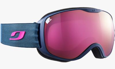 Lunettes de soleil Julbo Masque de ski PIONEER 12 BLEU SOMBRE / ROSE