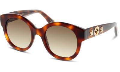 Lunettes de soleil Gucci GG0207S 002 AVANA-BROWN