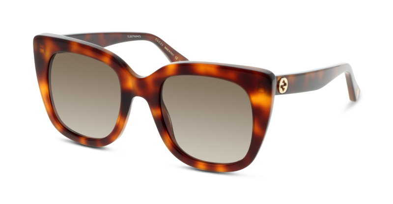 Lunettes de soleil Gucci GG0163S 002 AVANA-BROWN