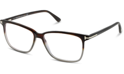 Lunettes de vue Tom Ford FT5478-B 056 SHINY HAVANA/GREY