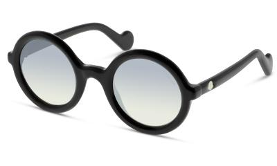 Lunettes de soleil Moncler ML0005 01B SHINY BLACK / GRADIENT SMOKE