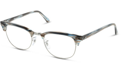 Lunettes de vue Ray Ban 5154 5750 BLUE/GREY STRIPPED