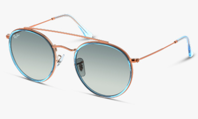 Lunettes de soleil Ray Ban New & 3647N 906771 LIGHT BLUE
