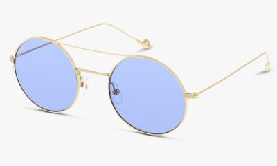 Lunettes de soleil In Style ILGU23 DC GOLD - NAVY BLUE