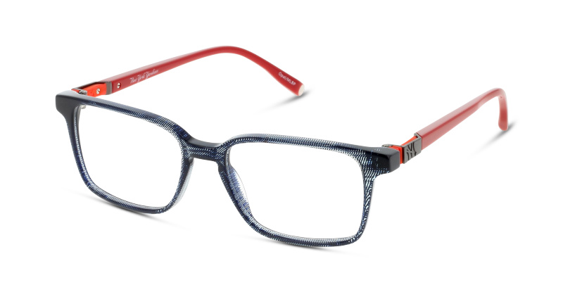 Lunettes de vue New York Yankees NYAM026 C67 NAVY BLUE RED