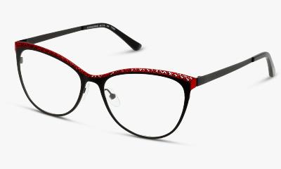 Lunettes de vue Fuzion FUHF07 BR BLACK - RED