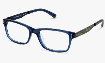 Lunettes de vue Twiins TWHK42 CY NAVY BLUE - YELLOW