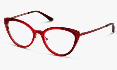 Lunettes de vue Fuzion FUHF01 RR RED - RED