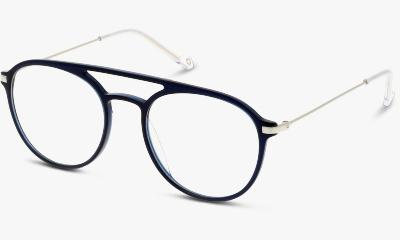 Lunettes de vue In Style ISHM03 CS NAVY BLUE - SILVER